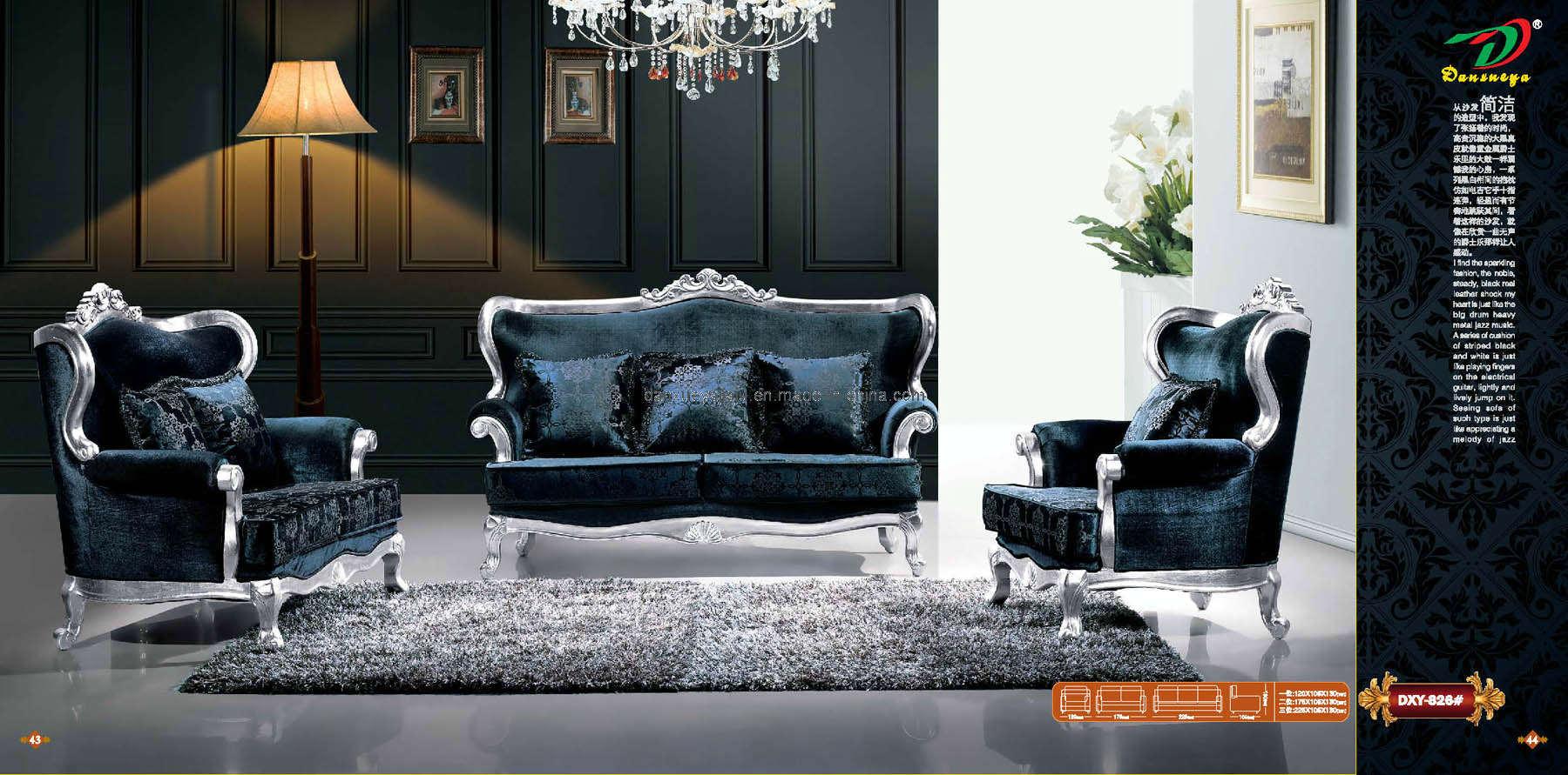 Sof silla sof de cuero muebles modernos de hotel del for Muebles de sala modernos italianos