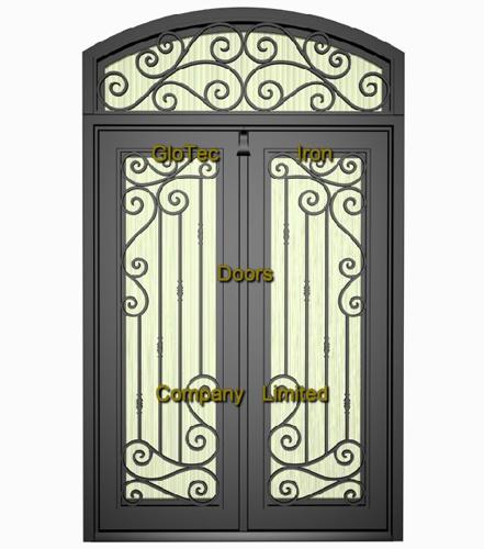Puerta del hierro labrado gt new029 puerta del hierro for Modelos de puertas de metal