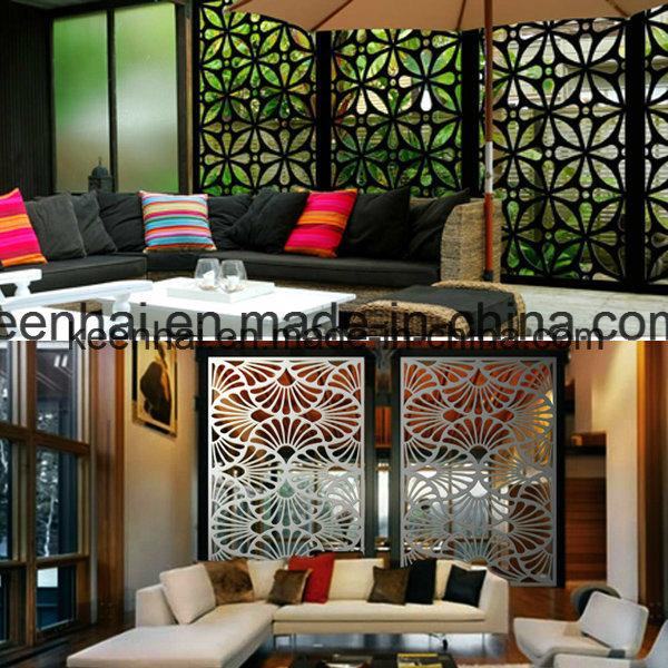 panneau de mur perfor en aluminium d coratif coup par. Black Bedroom Furniture Sets. Home Design Ideas