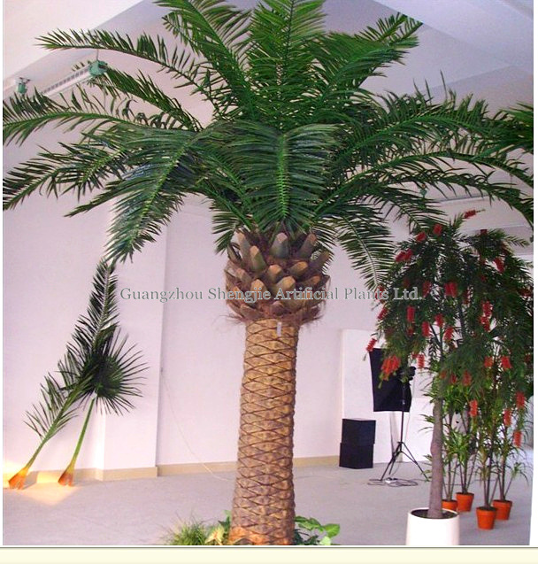 Palmier artificiel ext rieur durable de la datte iso14001 for Arbre artificiel exterieur