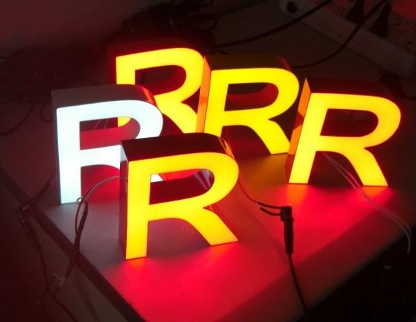 Lettres lumineuses par led de la manche de r sine lettres lumineuses par led - Lettres lumineuses led ...