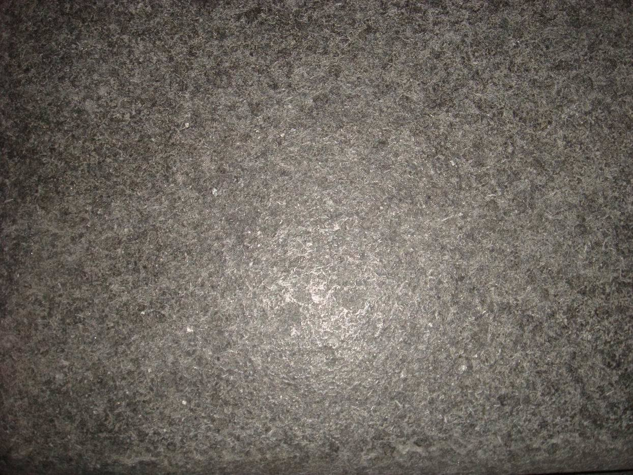 basalto azulejo negro del granito g684 flameado