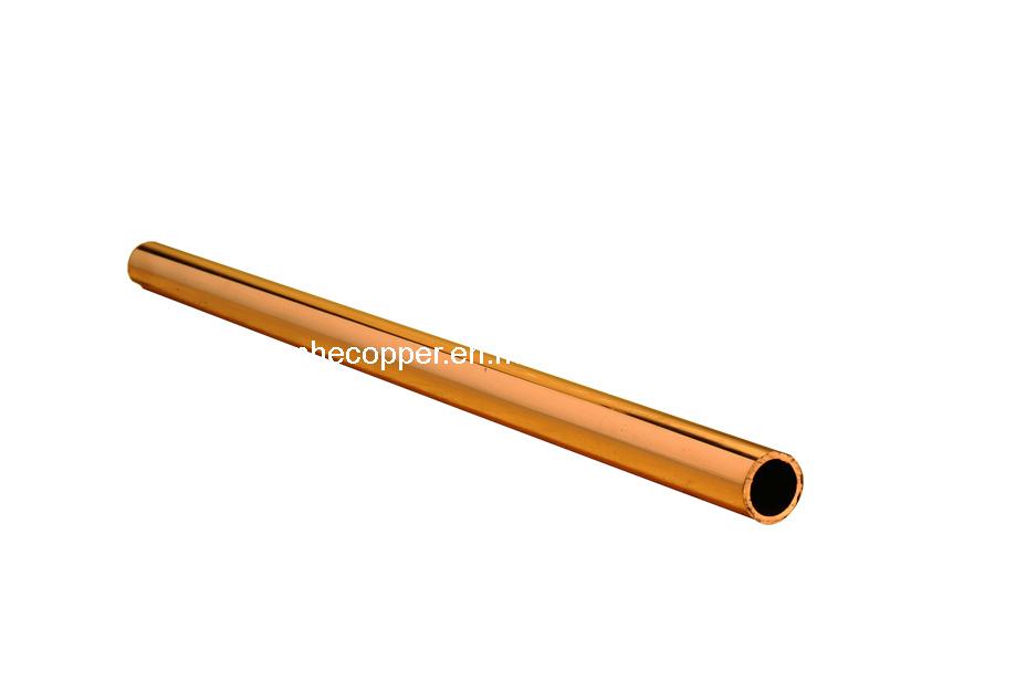 Tubo de cobre redondo rectangular cuadrado drenado - Precio de tuberia de cobre ...
