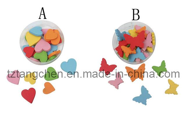 De houten decoratie van de vlinder van het hart tc 121022 for Door het hart van china