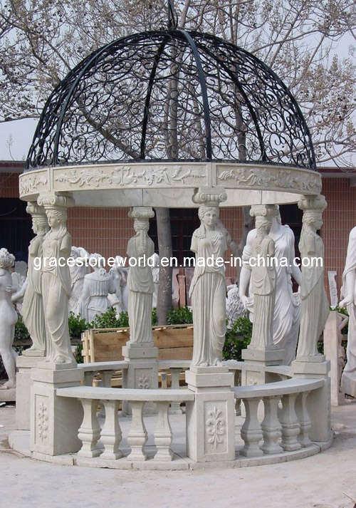 Gazebo de marbre gloriette de marbre gloriette en pierre gs g 012 gazebo de marbre - Gloriette fer smeden ...