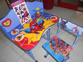 Silla y escritorio de madera ajustables a602 del beb del for Sillas estudio ninos