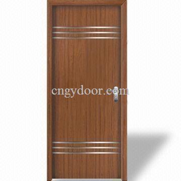 Puertas de madera interiores del mdf de la pel cula del - Puertas interiores de madera ...