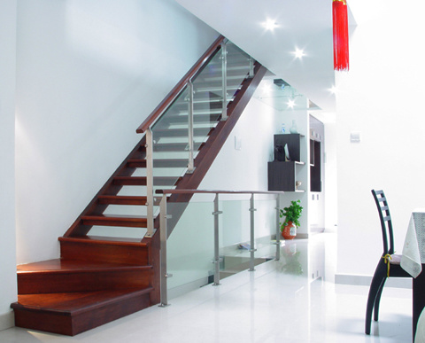 escaleras rectas del nuevo diseo escaleras de cristal l u escaleras rectas del nuevo diseo escaleras de cristal l por shanghai with escaleras en l