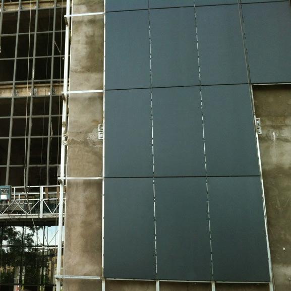 panneau en aluminium pour des syst mes de mur rideau et de fa ade photo sur fr made in. Black Bedroom Furniture Sets. Home Design Ideas