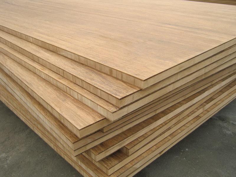 Strand Geweven Bamboe Panelen Bamboo Multiplex Strand