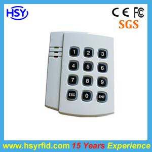 キーパッドを持つRFID 125kHz IDのカード読取り装置