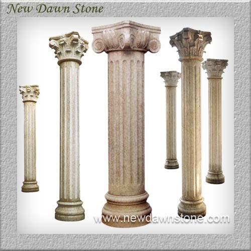 Columnas de piedra columna de m rmol romana columnas de for Piedra de marmol precio