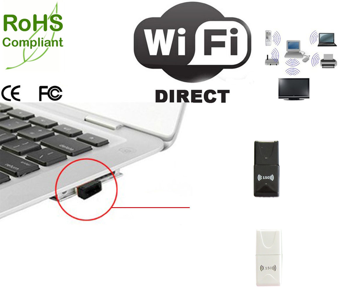 Dongle USB WiFi met Directe Functie WiFi – Dongle USB WiFi ...