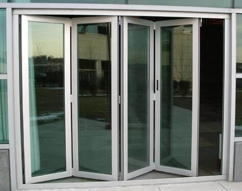 puerta bi plegable de aluminio z70 puerta bi plegable