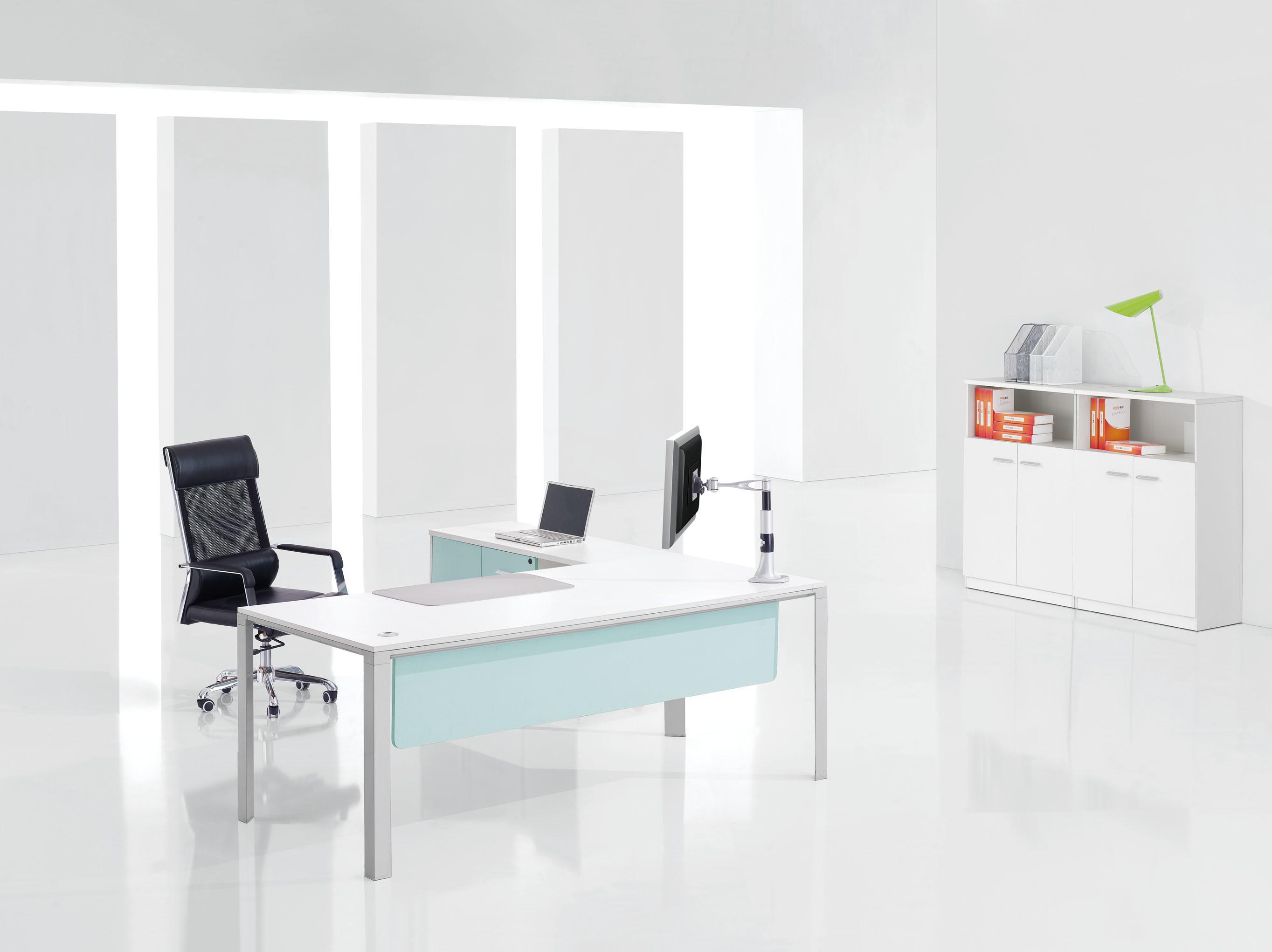 aluminio del encargado del escritorio MDF de los muebles de oficinas