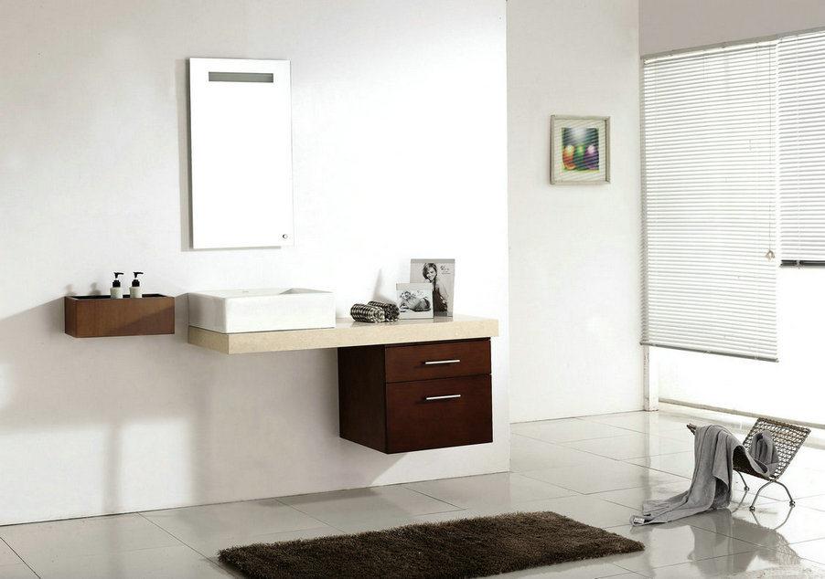 Gabinete de cuarto de ba o pared colgado con el espejo for Gabinete de pared 10 ru