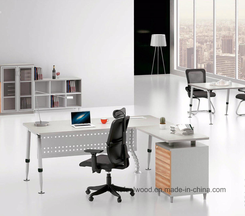 Foto de mueble de madera de la pierna de madera escritorio - Mueble escritorio moderno ...