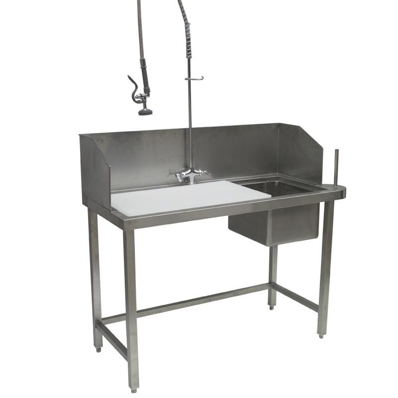 Cocina con mesa de trabajo splash sktl 03 cocina con - Mesas de trabajo para cocina ...