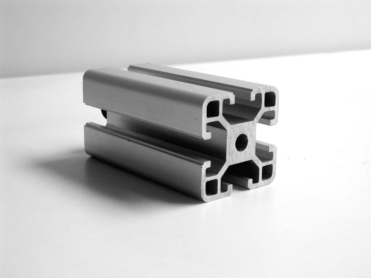 Perfil de aluminio anodizado plata de la protuberancia - Perfil aluminio anodizado ...