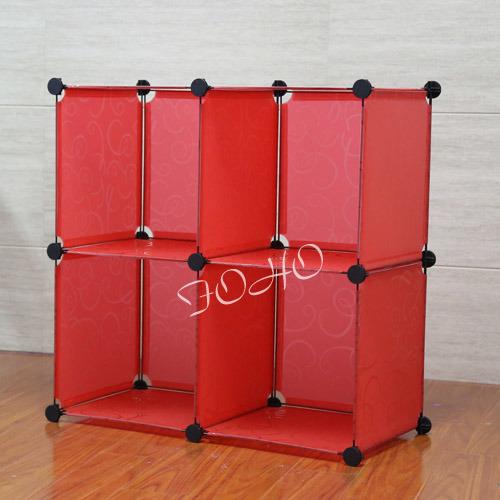 Organizador del almacenaje de la ropa con el color rojo - Organizadores de ropa ...