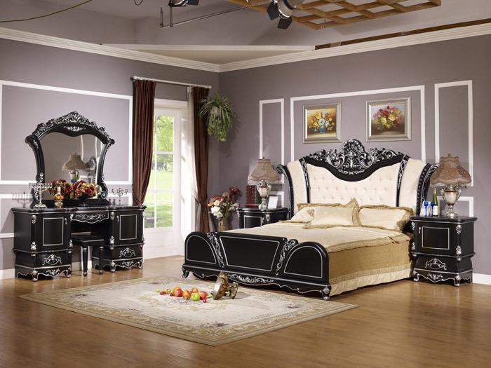 Ensemble de chambre coucher wll 8817b ensemble de for Set de chambre a coucher