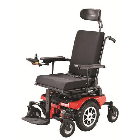 Sedia a rotelle multifunzionale di potenza sedia a for Larghezza sedia a rotelle