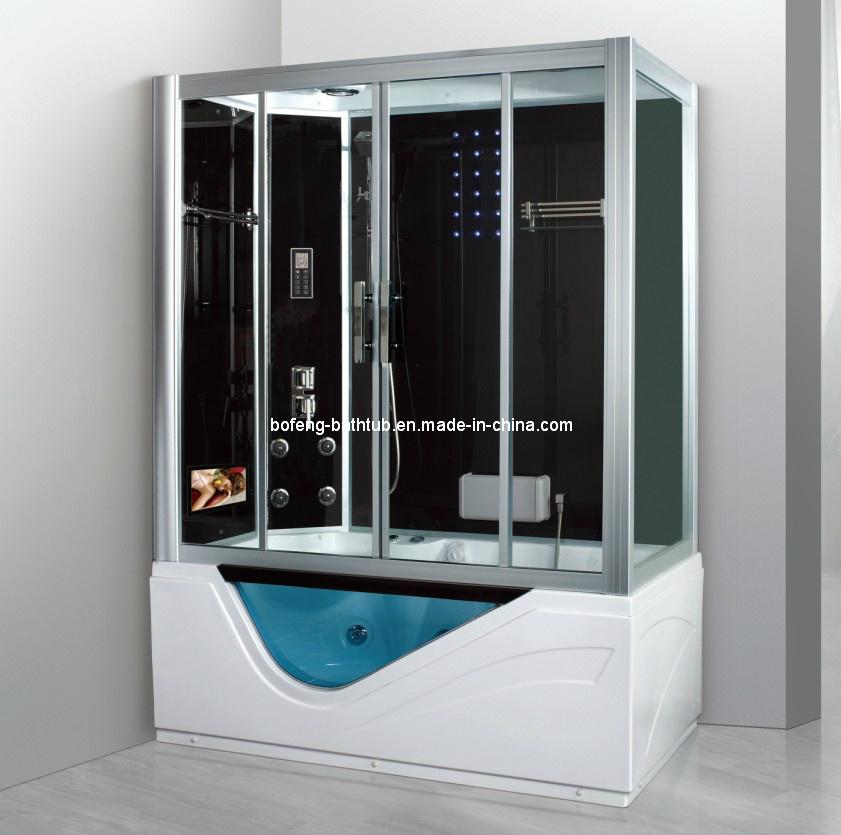 pi ce de douche de vapeur avec 20 pouces led tv. Black Bedroom Furniture Sets. Home Design Ideas