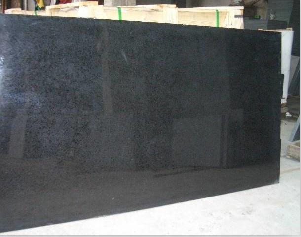 G684 granito negro azulejos losas suelo pared g684 for Precio granito negro