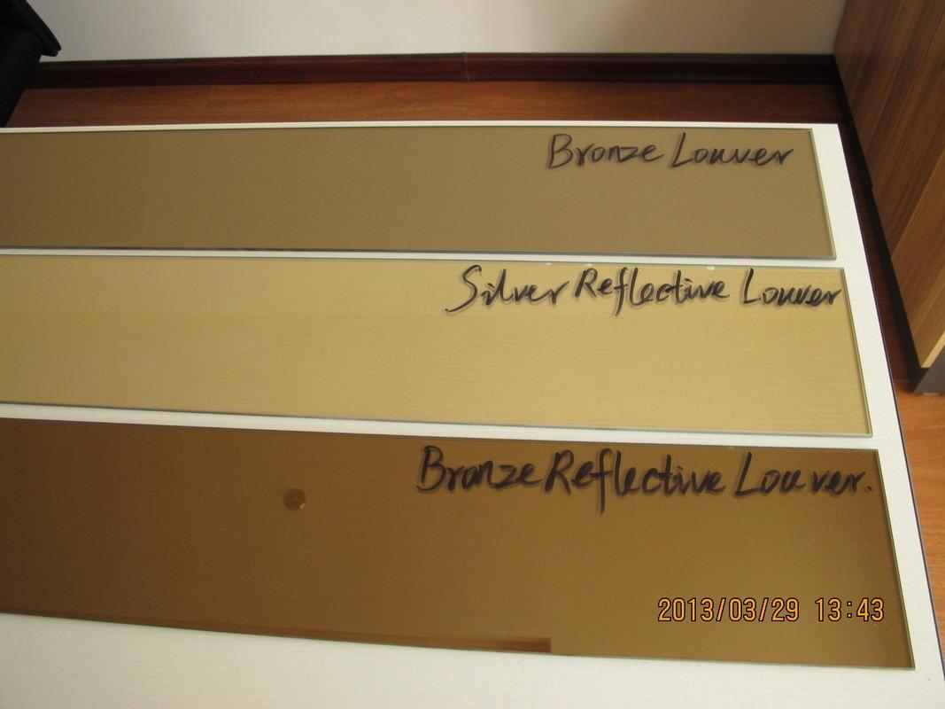 #9D642E vidro reflexivo de bronze da grelha de 5mm.jpg 38 Janelas De Vidro Cor Bronze