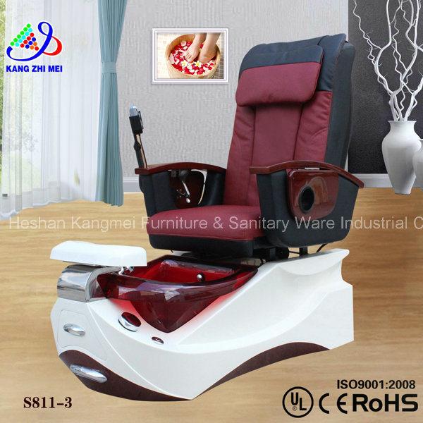 Silla usada silla de pedicure del masaje del balneario de for Sillas para pedicure