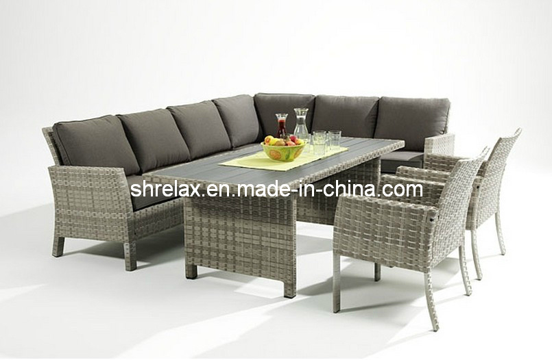 garten wicker sofa dining set gartenm bel foto auf de made in. Black Bedroom Furniture Sets. Home Design Ideas
