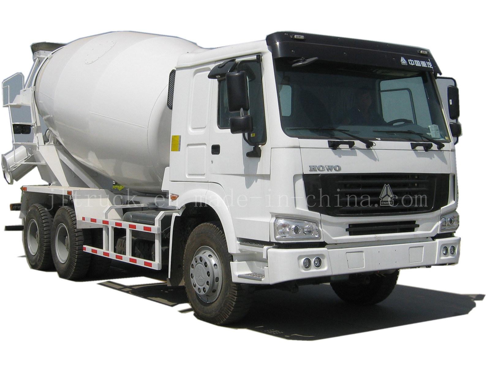 Caminh o 6x4 do misturador concreto de howo zzhws - Mezcladora de cemento ...