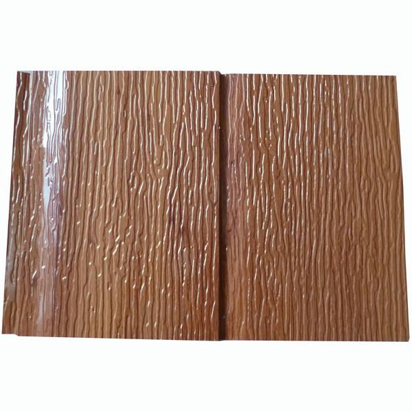Gomma piuma di poliuretano di legno dei pannelli di rivestimento ...