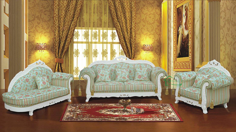 Sof de la tela para los muebles de la sala de estar for Tela para forrar muebles