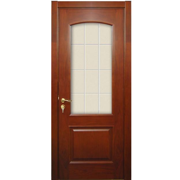 Puerta de madera interior puerta interior del final de la for Puertas de madera para dormitorios