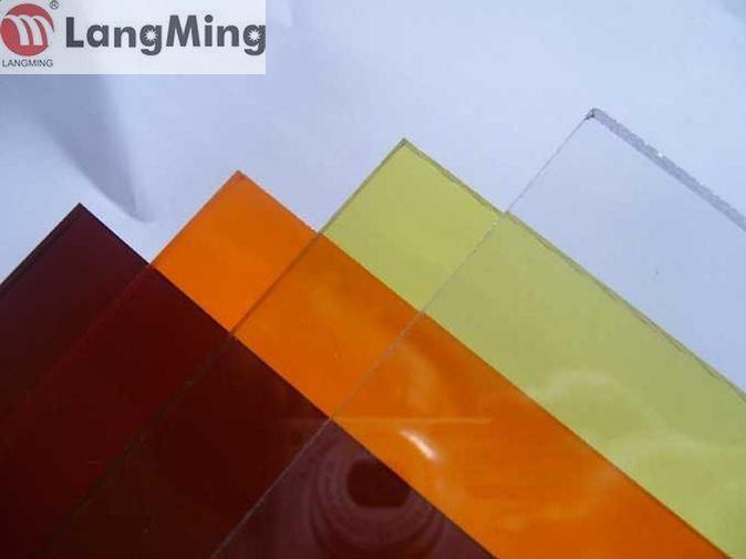 Feuille pleine 4mm de polycarbonate de qualit avec la couleur et le lustre l - Polycarbonate 4mm prix ...