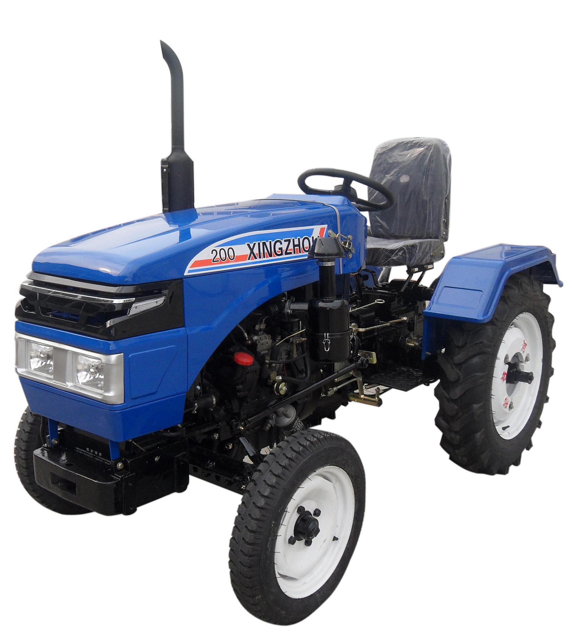 Мини-садовый трактор-погрузчик малого фермерского.