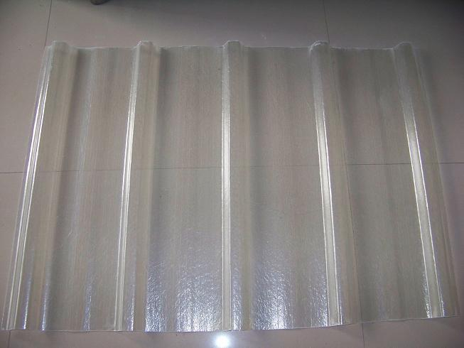 Hojas los paneles acanalados del material para techos de for Paneles de fibra de vidrio