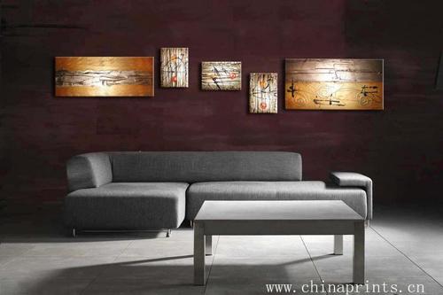Pintura da lona para a sala de estar pintura da lona para for Sala de estar pintura