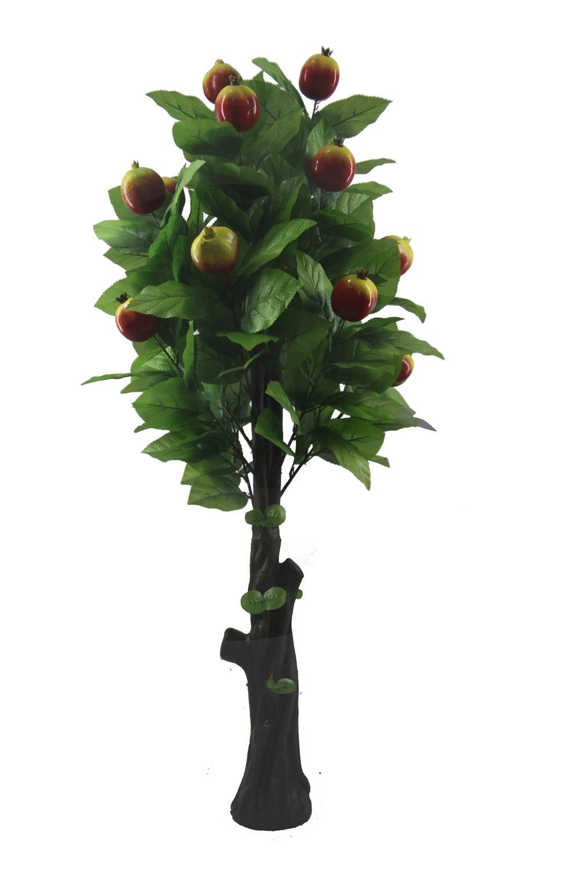 arbre de grenade plante fruiti re artificielle de likelife arbre fruitier artificiel jtlb 0238. Black Bedroom Furniture Sets. Home Design Ideas