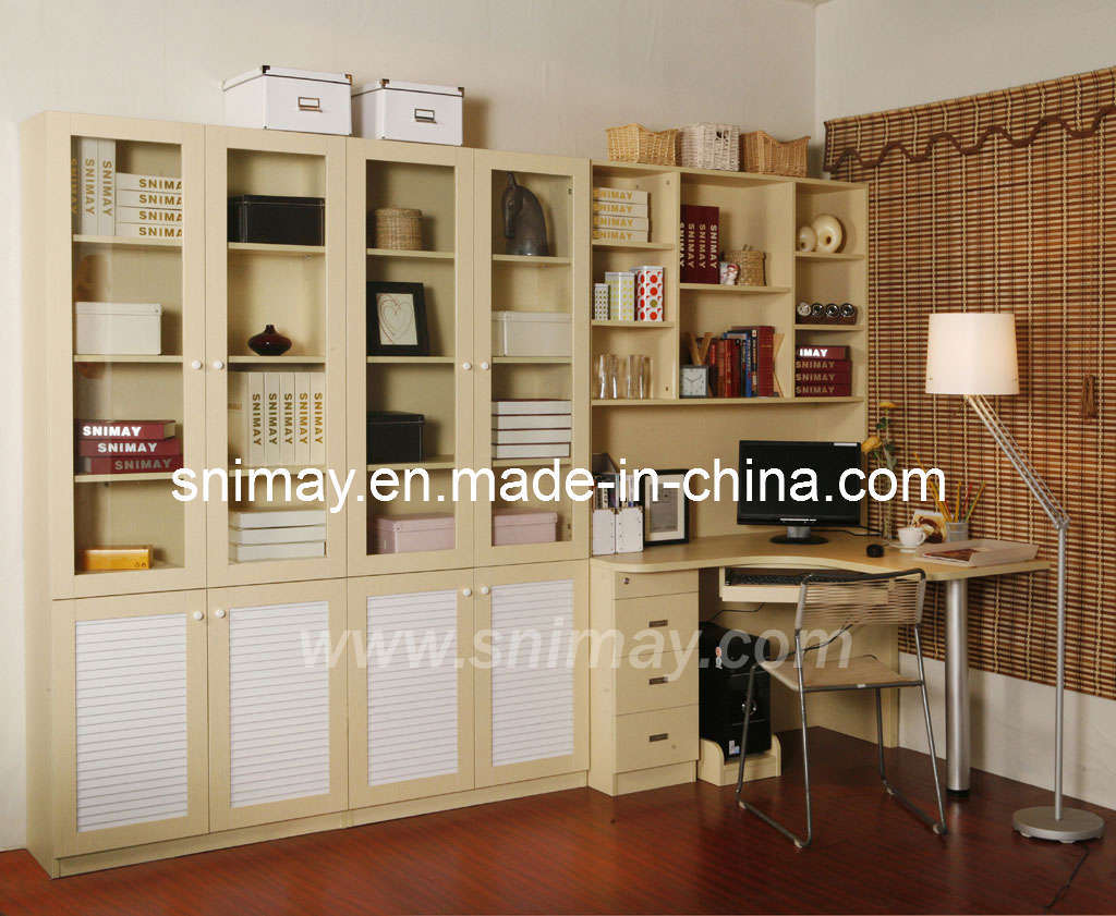 muebles del hogar del estante para libros del mdf