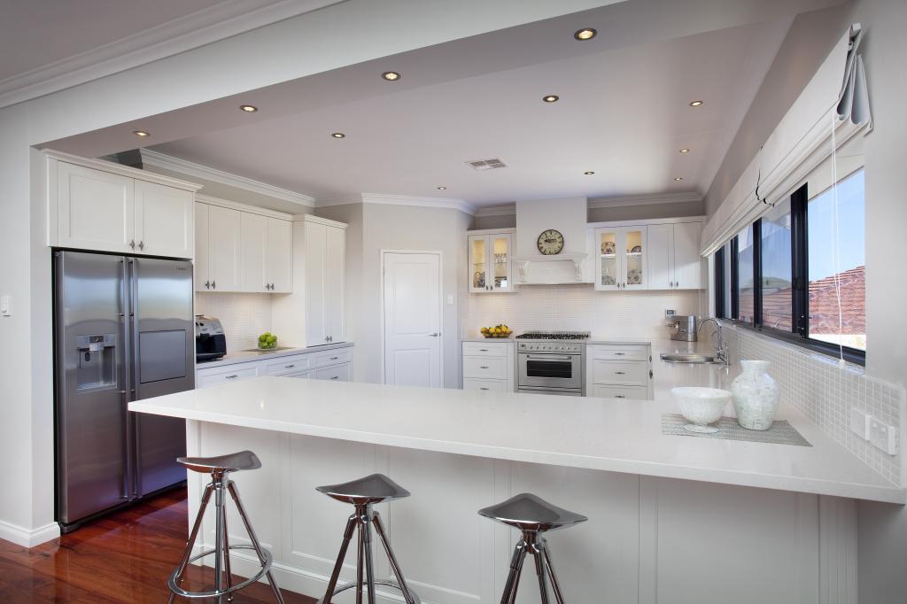 Bisagras hidr ulicas del gabinete de cocina del gabinete for Gabinetes de cocina en mdf