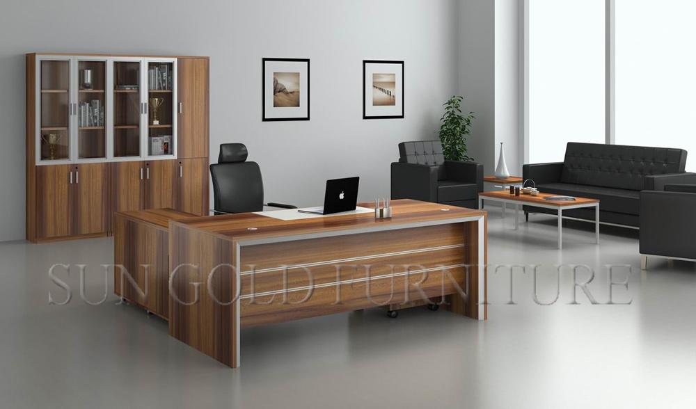 Diseño moderno Mesa de oficina de lujo Escritorio ejecutivo Muebles