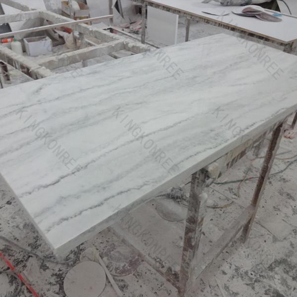 Controsoffitto di superficie solido di pietra di marmo della ...