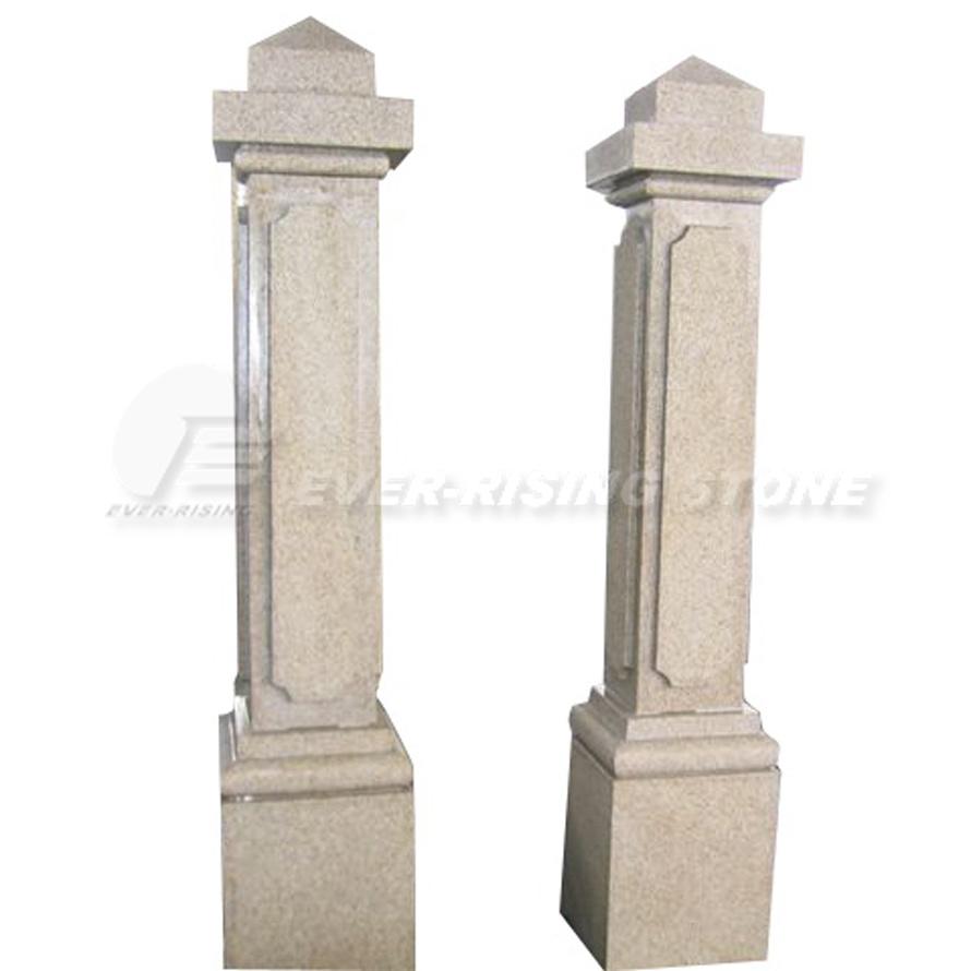 Columnas de m rmol amarillentas g682 columnas de m rmol - Columna de marmol ...