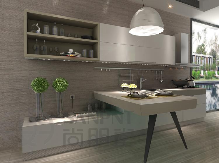 Adesivo De Parede Viagem ~ Armário de cozinha moderno do estilo (K201) u2013Armário de cozinha moderno do estilo (K201