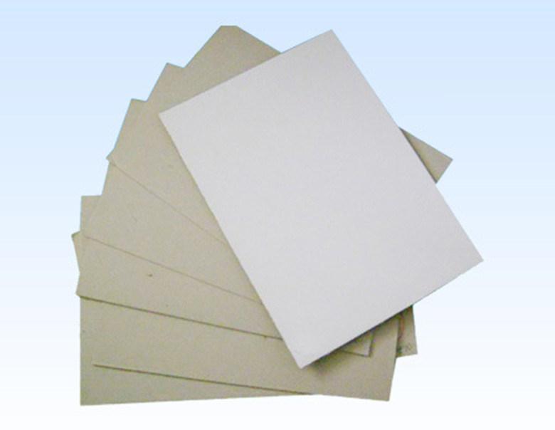 Qualit coated duplex board avec grey back qualit coated for Surface minimum bureau afnor