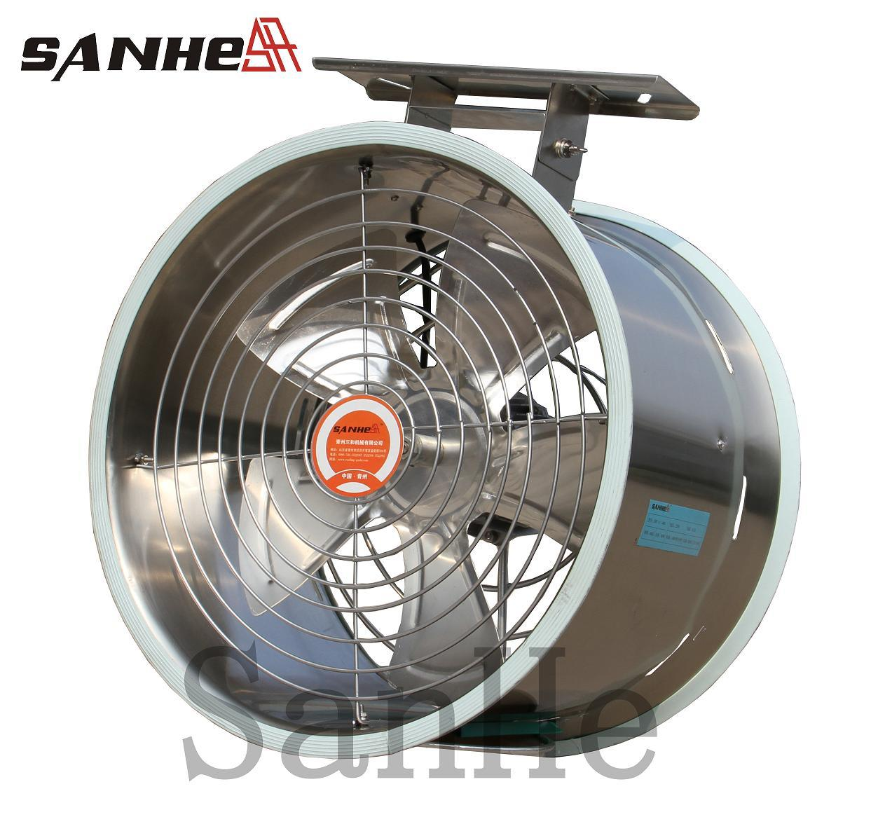 Greenhouse Air Circulation : Air circulation fan pour greenhouse avec du ce