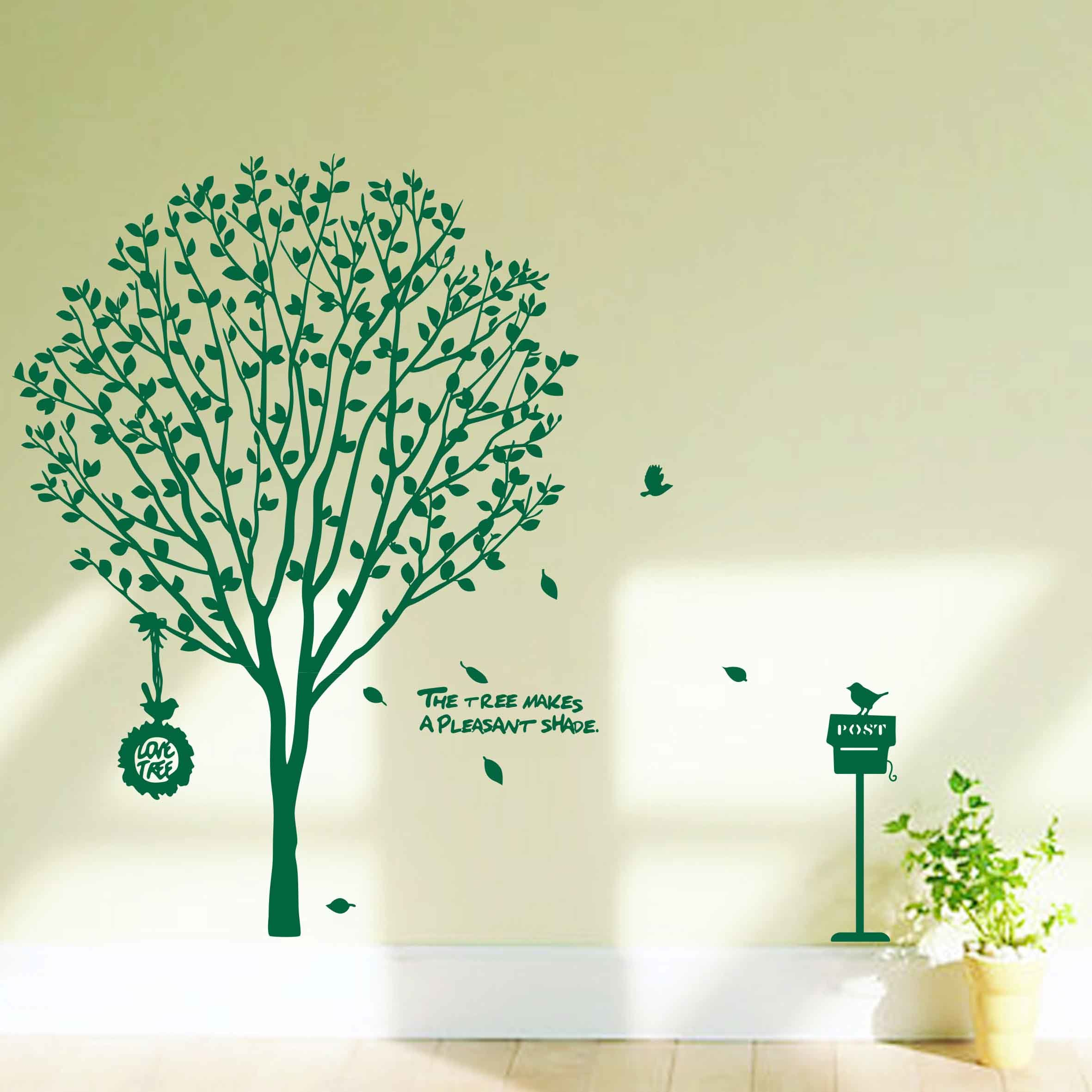 Product Love Tree Wall Decal Hrsooueiy