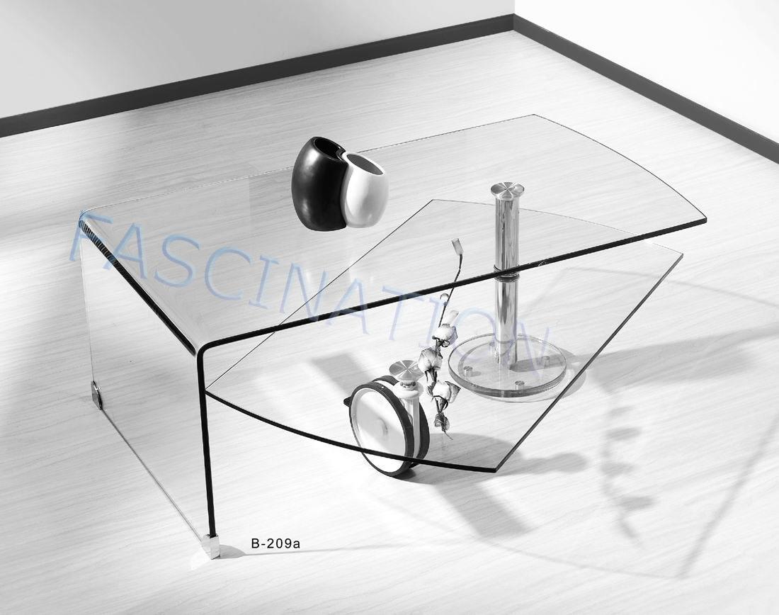 Mesa de centro de cristal del mueble vidrio b 209a mesa de centro de cristal del mueble - Mesas de centro de vidrio ...